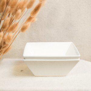 Squared Ceramic Bowls